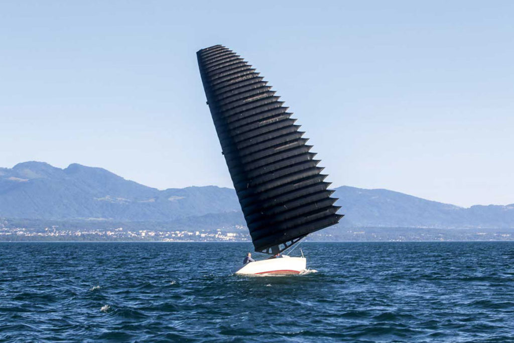 Inflated Wing Sails Concept